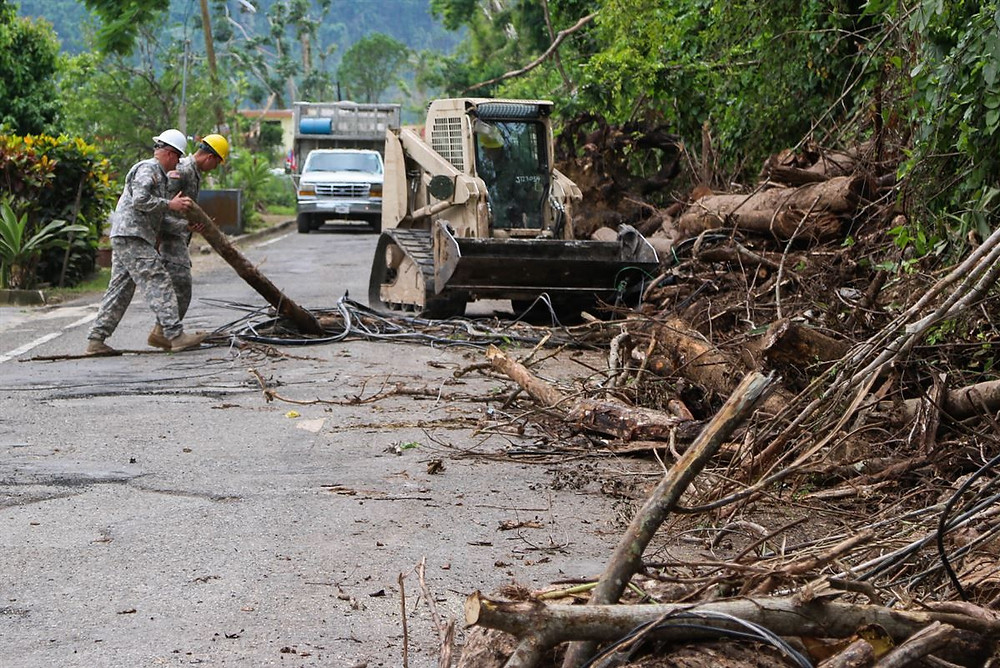 Relief Efforts in Puerto Rico are still very much underway. Image Credit: United States Department of Defense
