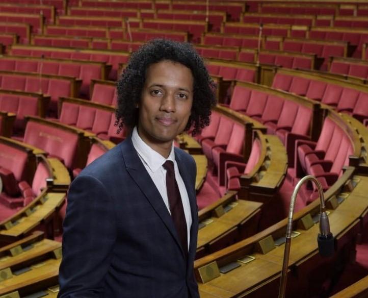Pierre-Alain Raphan à l'Assemblée Nationale