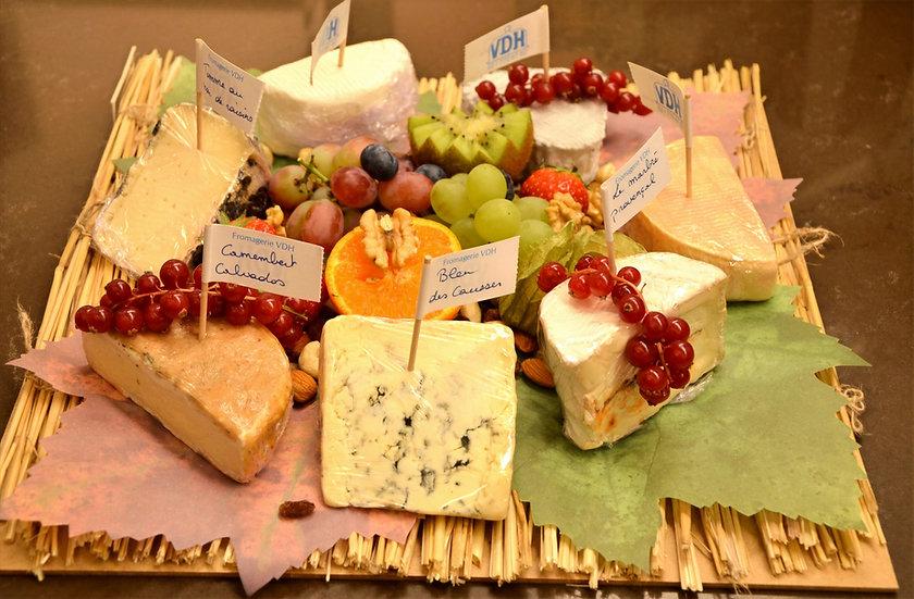 Plateau de fromages « dessert »