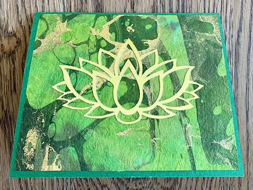 Heart Chakra Aventurine Meditation Card