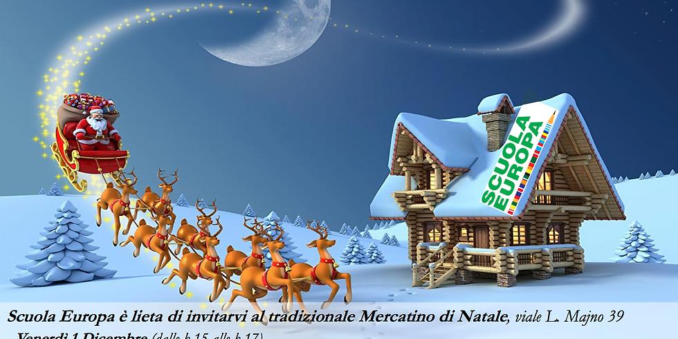 Vendita natalizia Scuola Europa Milano