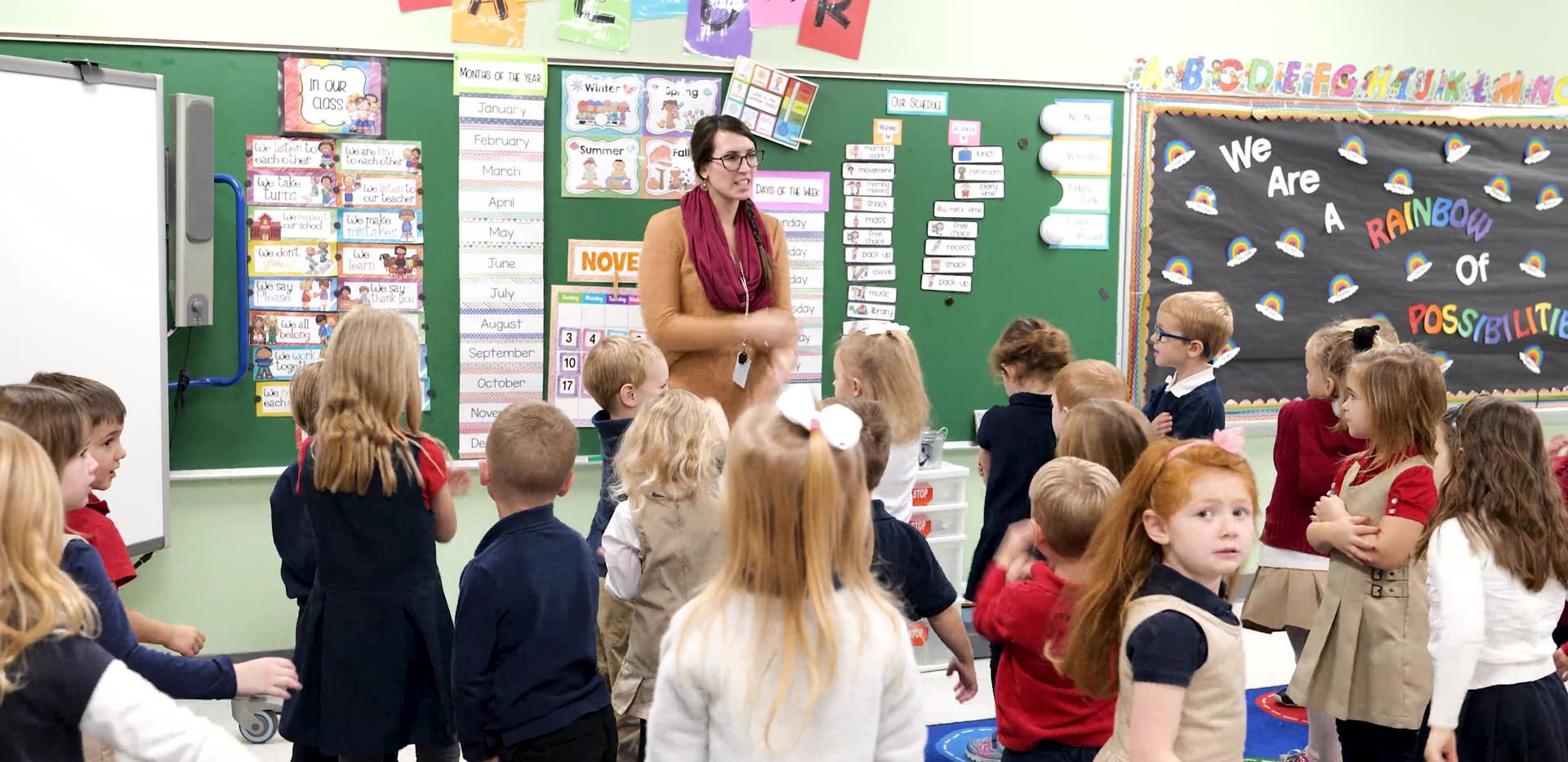 Aquinas Catholic Schools Preschool and Kindergarten Programs
