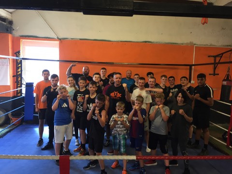 Boxing gym in Blackpool