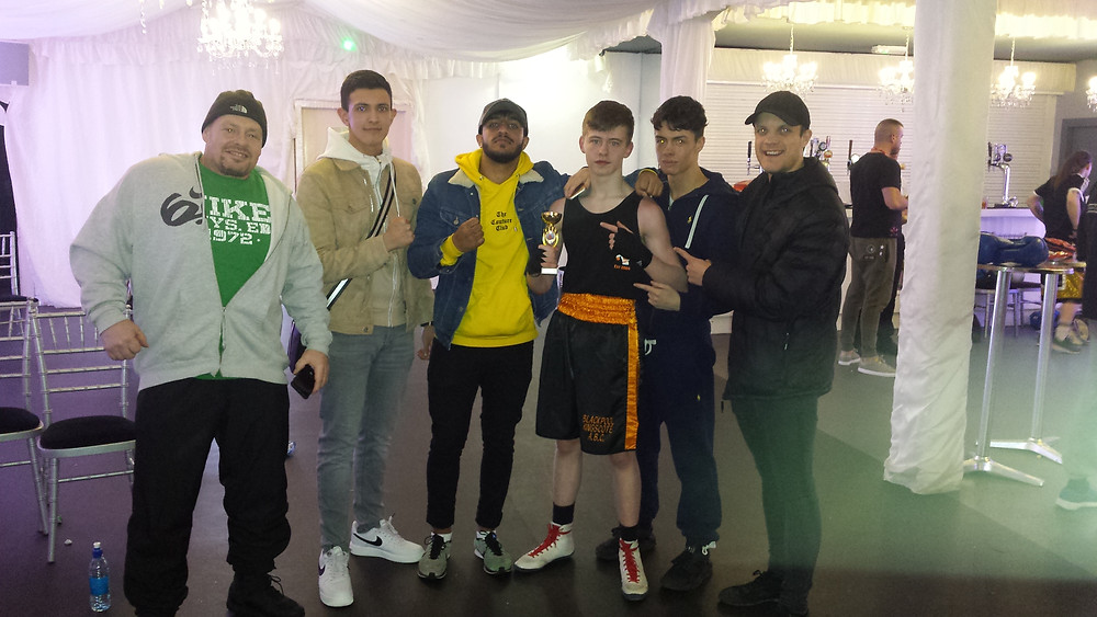 Blackpool Kingscote boxing at club Fusion Liverpool