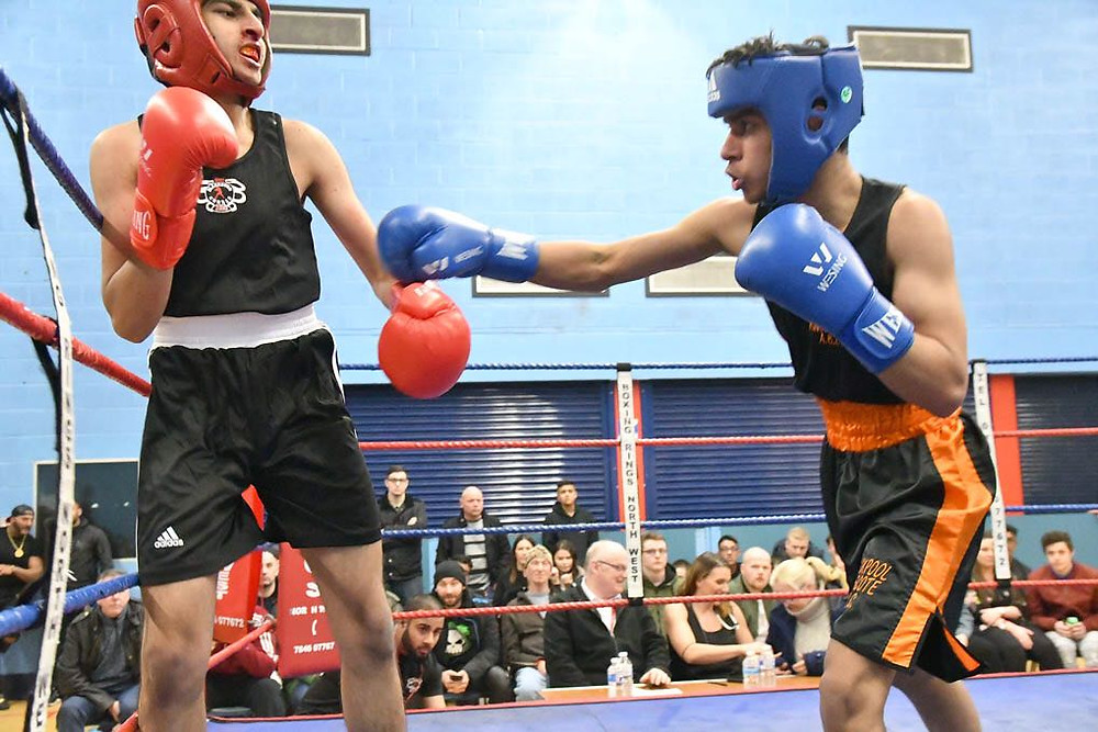 Boxing Blackpool Fighter
