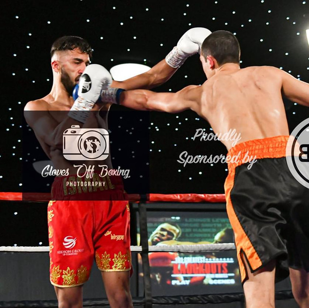 Ed Harrison vs Ismail Khan