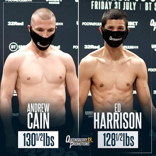Cain vs Harrison