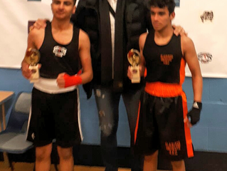 Jamal Khan displays excellent boxing in his first Skills Fight.