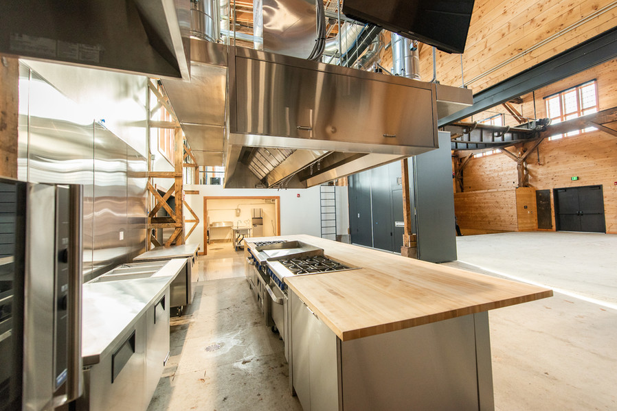The Community Kitchen Facing South