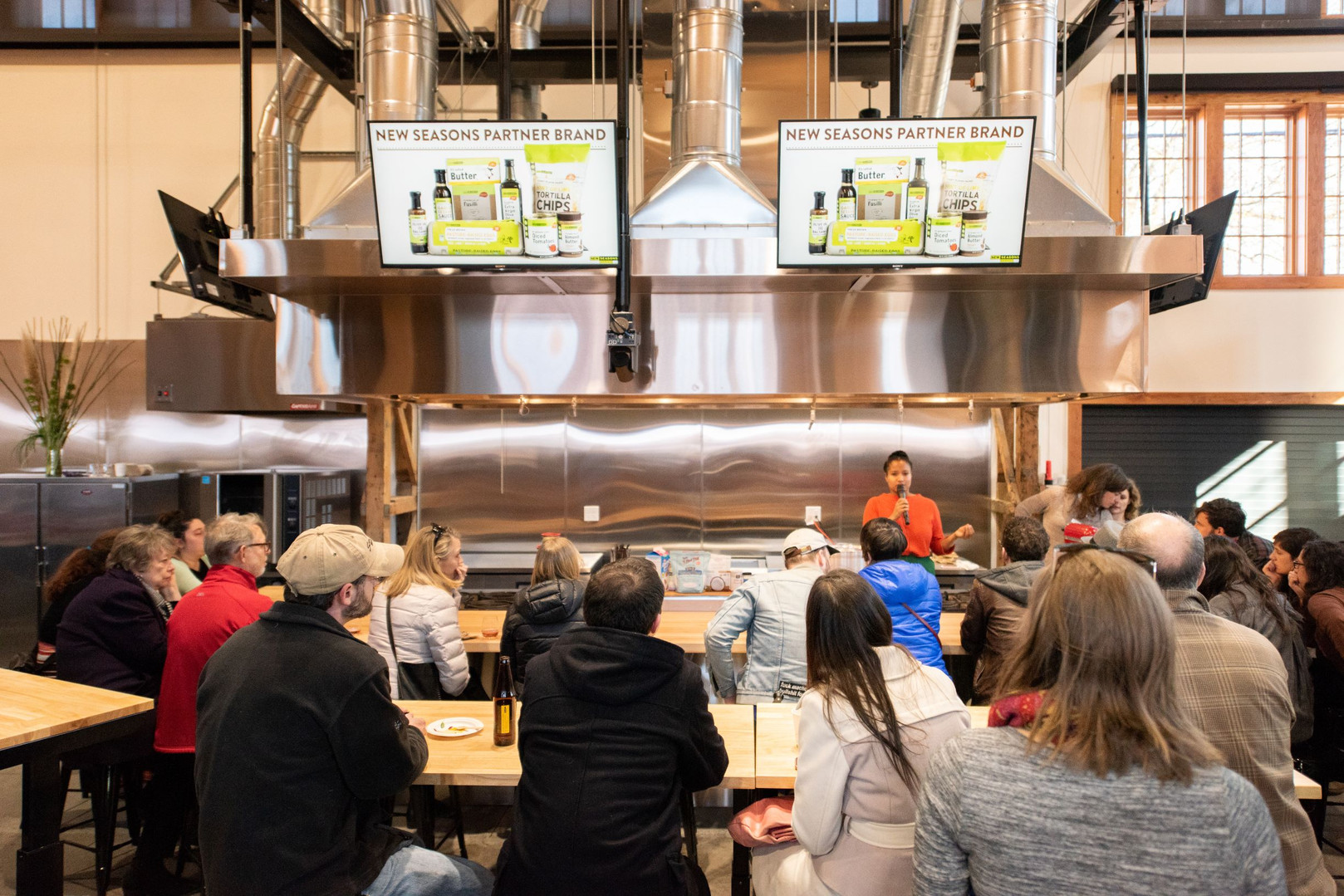 A Cooking Demonstration
