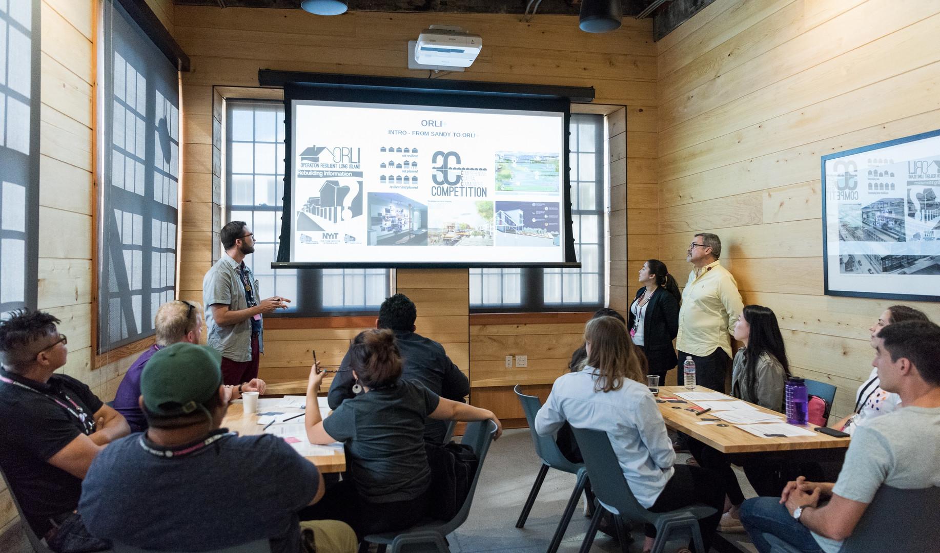 Meeting Breakout Space in Redd Board Room