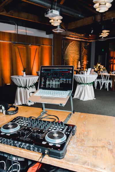 Dance Party set up