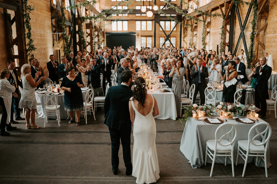 Reception in the Main Hall