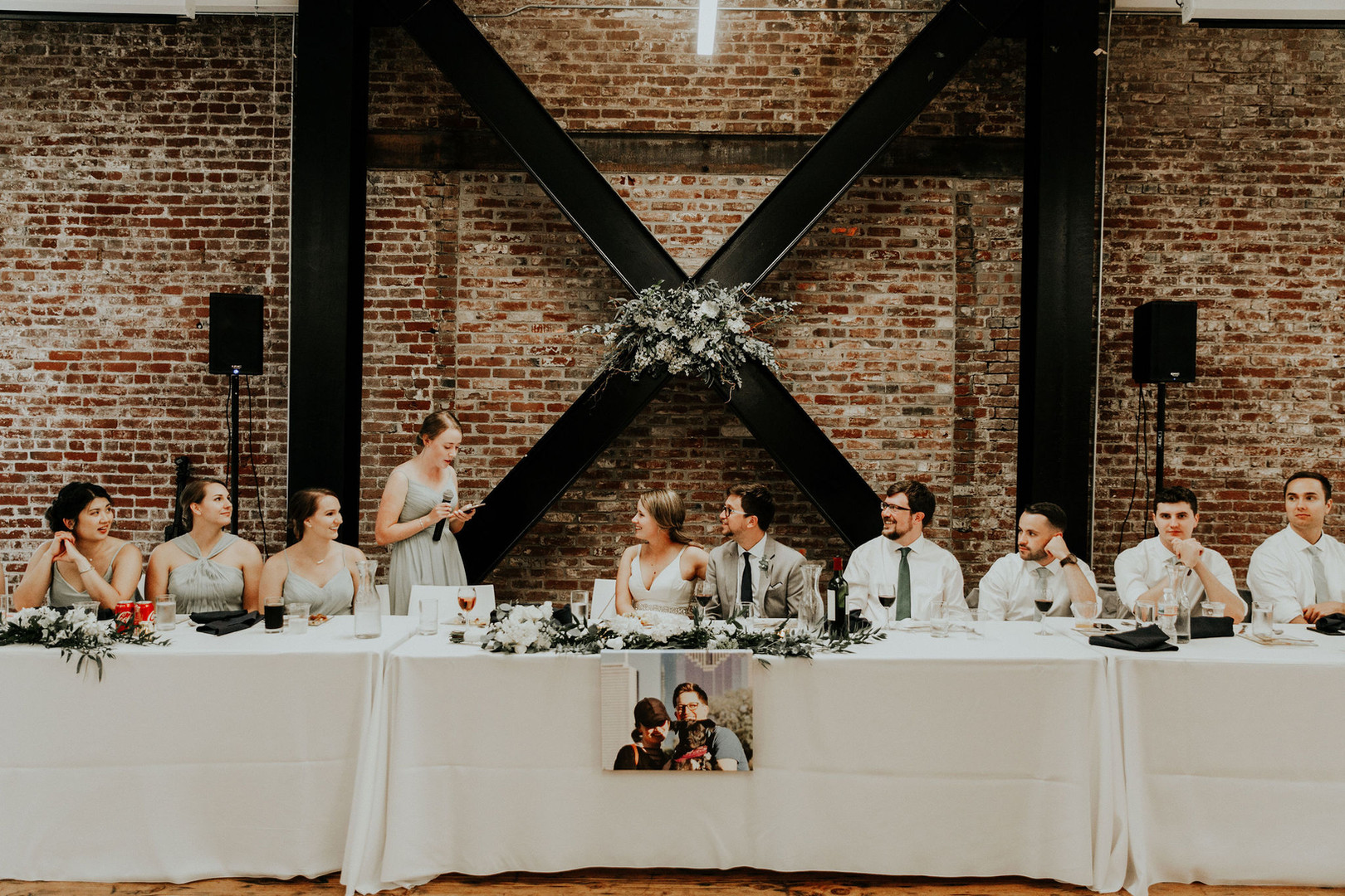 Wedding Party Head Table