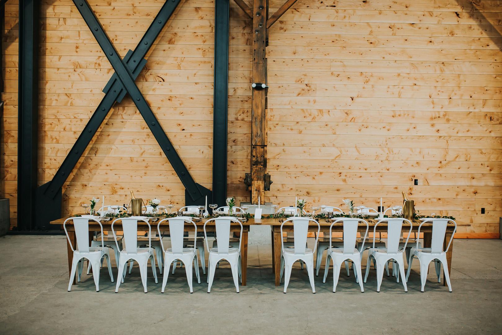 Farm Table at the Redd