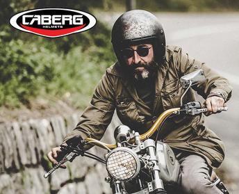 Caberg Helmets at Chas Mann Supelright C