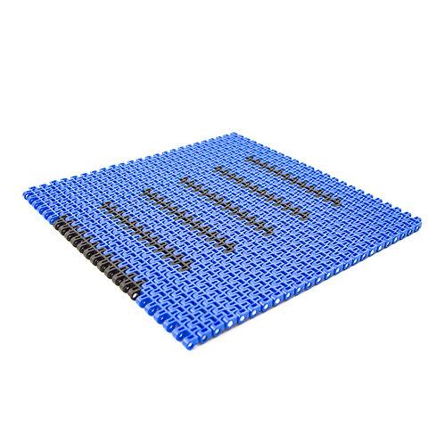 204 Modular Conveyor belt with friction pads