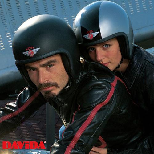 Davida helmets at chas mann motorcycles