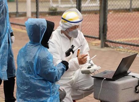 חברת DJI Enterprise מסייעת לארגונים הנאבקים בקורונה באמצעות רחפנים