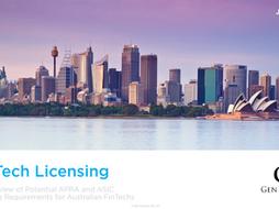 FinTech Licensing