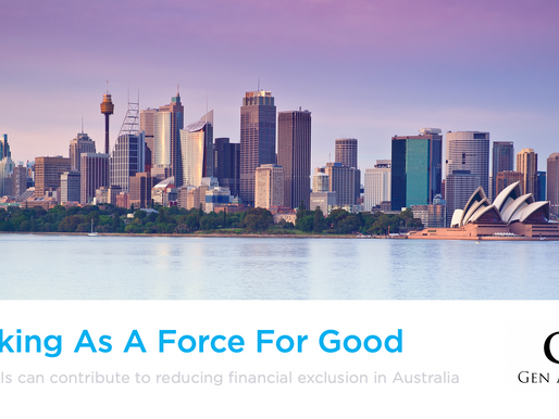 Banking as a Force for Good