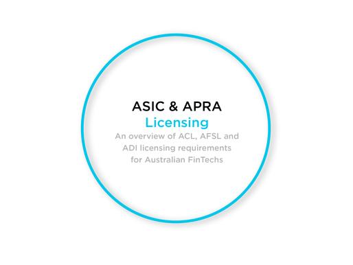 ASIC & APRA Licensing