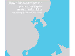 How ADIs can reduce the gender pay gap in Australian banking