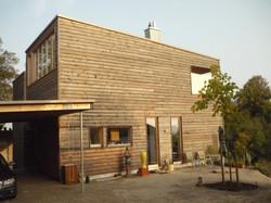 Modern bauen mit Holz