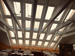 Dachfensteranlage