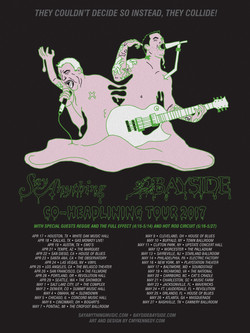 Bayside/ Say Anything Tour Poster