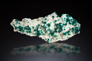Dioptase with Calcite