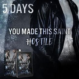 COUNTDOWN - Hostile Saint by India R Adams
