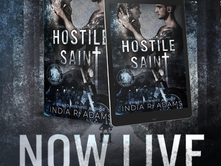 REVIEW - Hostile Saint by India R Adams