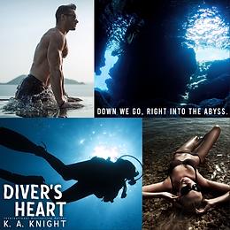 TEASER - Diver's Heart by KA Knight