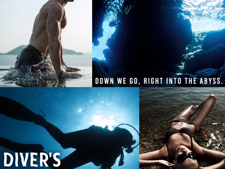 TEASER - Diver's Heart by KA Knight