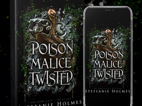 TOUR ANNOUNCEMENT - Poison Malice Twisted by Steffanie Holmes