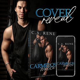 COVER REVEAL - Carmelo's Malice by C.A. Rene