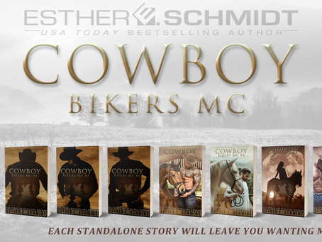 NEW RELASE - Cowboy Bikers MC #8 by Esther E. Schmidt