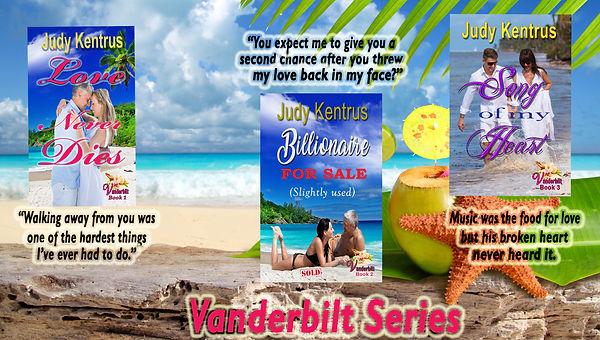 Vanderbilt Resort 3 book covers amped up