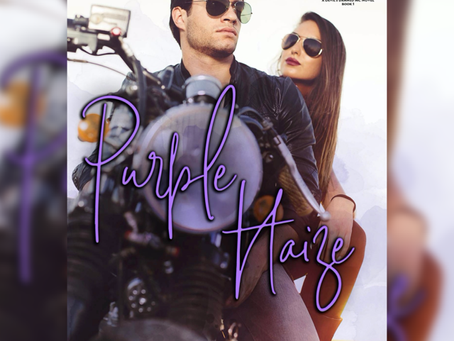 COVER REVEAL - Purple Haize by Joz Maxel
