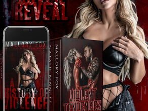 COVER REVEAL - A History of Violence by Mallory Fox