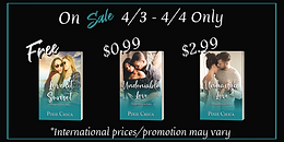 SALE - Love at Sunset & Undeniable Love by Pixie Chica