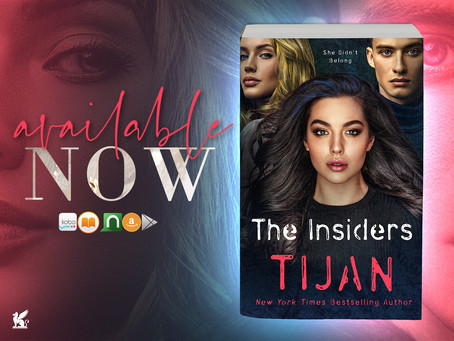 BLOG TOUR & EXCERPT - The Insiders by Tijan