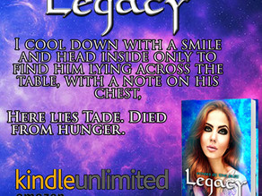 TEASER - Echoes Of  The Past - Legacy by Rachel Starkie
