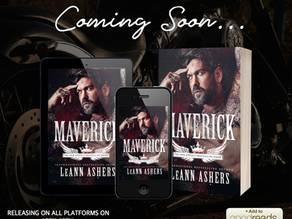 Add to your TBR- Maverick by LeAnn Ashers