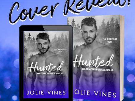 COVER AND BLURB REVEAL - Hunted by Jolie Vines