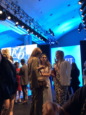 behind the scenes at NYFW