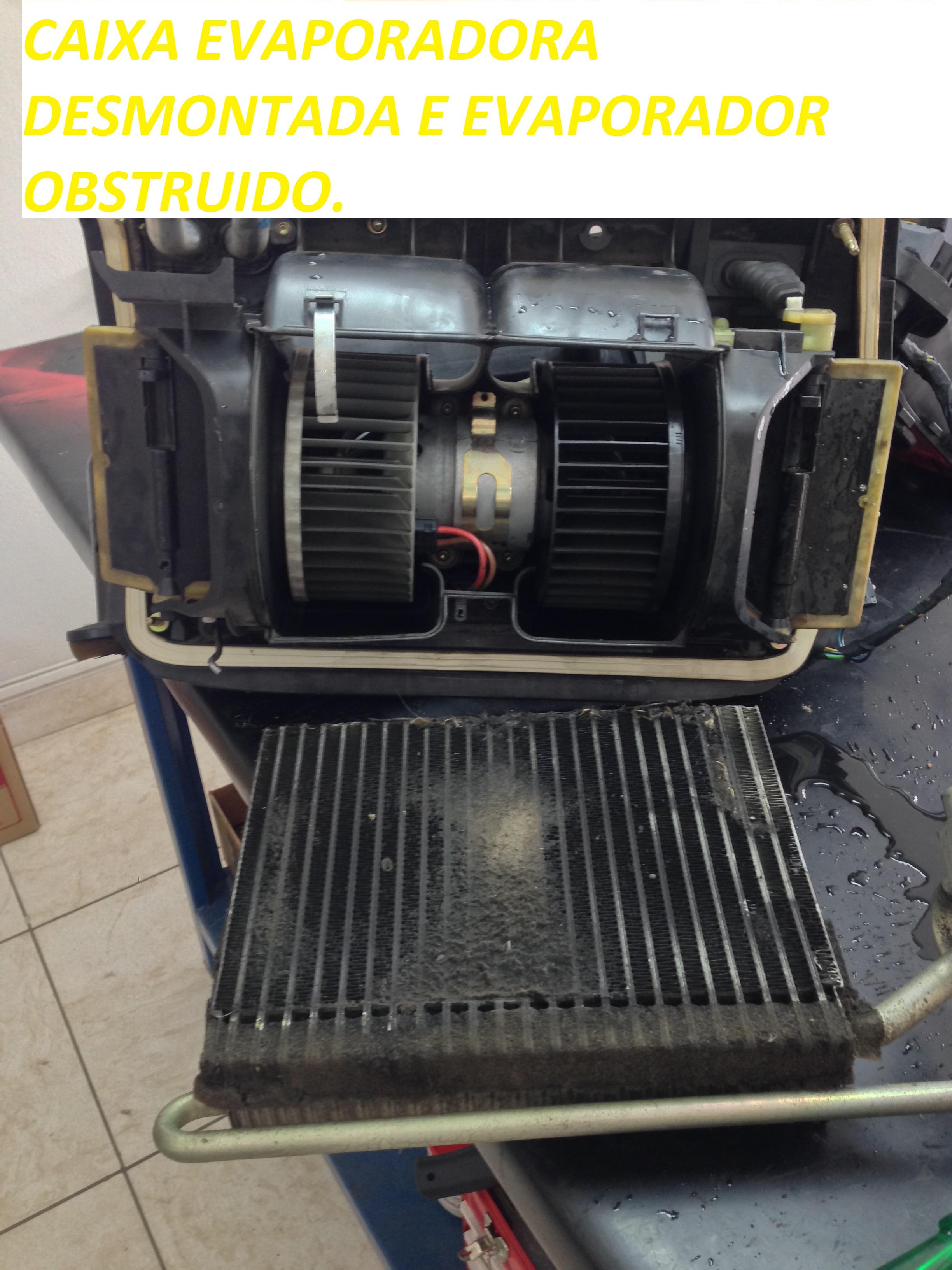 Evaporador limpo