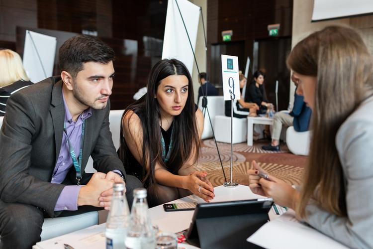 Baku Travel Bazaar, working sessions