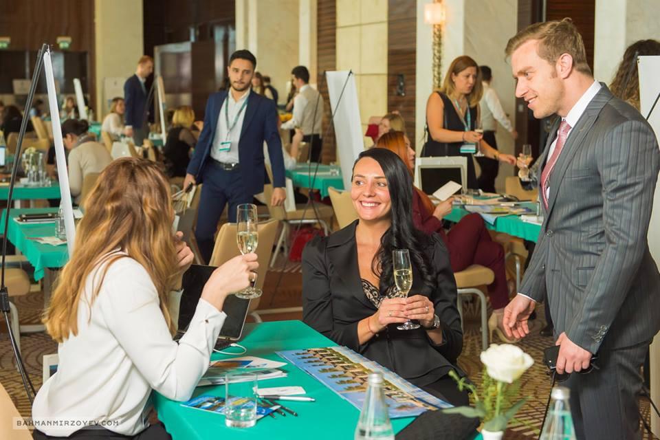 "Baku Travel Bazaar, ""champagne-hour"""